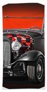 1930 Ford 'red Ball Express' II Bath Towel