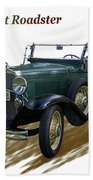 1931 Chevrolet Antique Roadster Bath Towel