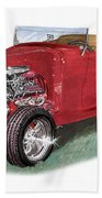 1932 Ford Hi-boy Hot Rod Bath Towel