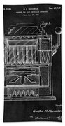 1932 Slots Patent Bath Towel