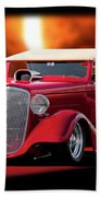 1934 Chevrolet Phaeton Convertible Bath Towel