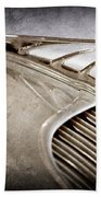 1934 Desoto Airflow Coupe Hood Ornament -2404ac Hand Towel by Jill Reger