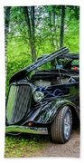 1934 Ford 3 Window Coupe Bath Towel