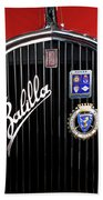 1935 Fiat Balilla Sport Spider Grille Bath Towel
