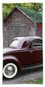 1936 Ford 3-window Bath Towel