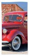 1939 Ford 'stake Bed' Pickup Truck I Bath Towel