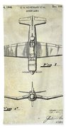 1946 Airplane Patent Hand Towel