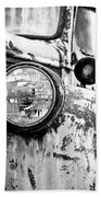 1946 Chevy Work Truck - Headlight Detail Bath Towel