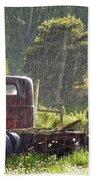 1947 Dodge Pickup Rain And Sun Bath Towel