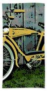 1949 Shelby Donald Duck Bike Bath Towel
