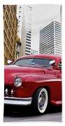 1951 Mercury 'candy Custom' Sled L Bath Towel