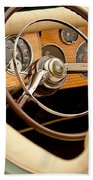 1952 Sterling Gladwin Maverick Sportster Steering Wheel Bath Towel