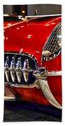 1954 Chevrolet Corvette Number 3 Bath Towel