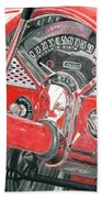 1955 Chevrolet Bel Air Bath Towel