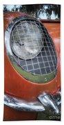 1955 Corvette Headlight Detail Bath Towel