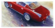1956 Ferrari 410 Superamerica Scaglietti Series Bath Towel