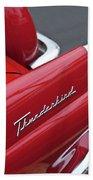 1956 Ford Thunderbird Taillight Emblem 2 Bath Towel