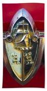 1956 Plymouth Belvedere Emblem 2 Bath Towel