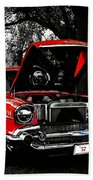 1957 Chevy Bel Air Bath Towel