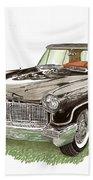 1957 Lincoln Continental Mk II Bath Towel