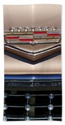 1958 Cadillac Eldorado Barritz Emblem Bath Towel
