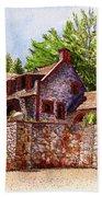 #196 Bourn Cottage Bath Towel