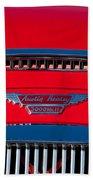 1962 Austin Healey 3000 Mk II Hood Emblem -0324c Bath Towel