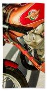 1964 Ducati 250cc F3 Corsa Motorcycle -2727c Bath Towel