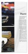 1964 Ford Mustang-10-11 Bath Towel