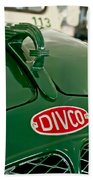 1965 Divco Milk Truck Hood Ornament Bath Towel