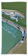 1966 Jaguar Hood Ornament Hand Towel