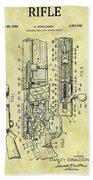 1966 Rifle Patent Bath Towel