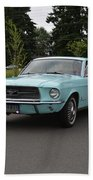1967 Ford Mustang Watts Bath Towel