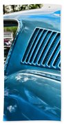 1968 Ford Mustang Fastback In Blue Bath Towel
