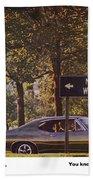 1968 Pontiac Gto - Woodward - The Great One By Pontiac Bath Towel
