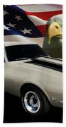 1969 Camaro Rs Tribute Bath Towel
