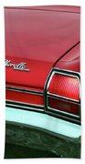 1969 Chevy Chevelle Ss 396 Bath Towel