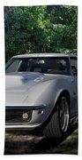 1969 Corvette Lt1 Coupe I Bath Towel