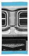 1969 Pontiac Gto  Bath Towel