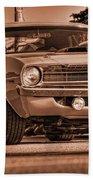 1970 Plymouth Hemi 'cuda Bath Towel