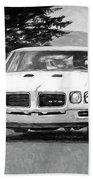 1970 Pontiac Gto Bath Towel
