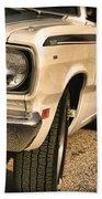 1971 Plymouth Duster 340 Four Barrel Bath Towel