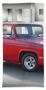 1973 Chevrolet C10 Fleetside Pickup II Bath Towel