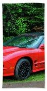 1998 Pontiac Firebird Trans Am Hand Towel