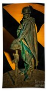 1st Cav History - Respect From Another Trooper To Another - Oil Bath Towel