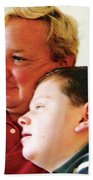 Father And Son Bath Towel