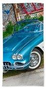 1959 Chevrolet Corvette Hand Towel