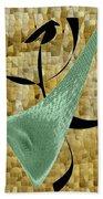 Abstract #68 Bath Towel