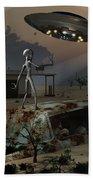 Artists Concept Of A Science Fiction Bath Towel