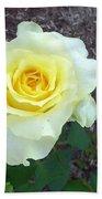 Australia - Yellow Rose Flower Bath Towel